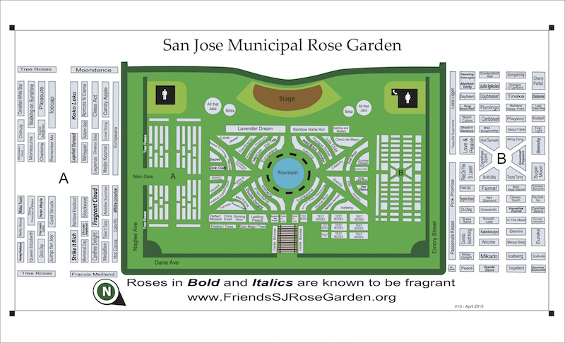 Garden Map Brochure Back
