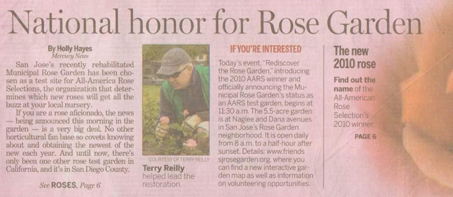 America's Best Rose Garden